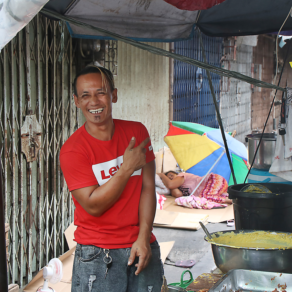 Vendor, Manila, Philippines