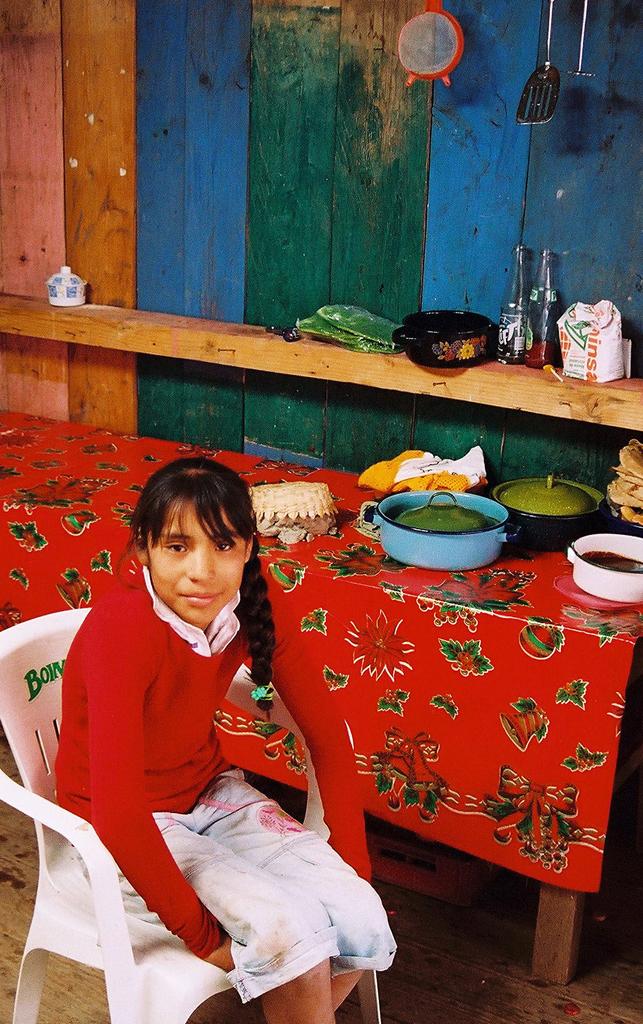 Portrait, Michoacán, Mexico